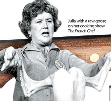 Bon Appetit with Julia Child